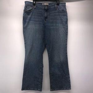 LEVI's 590 Defined Waist Bootcut Jeans 18